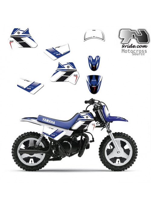 Kit déco Yamaha PW 50 GYTR 9ride
