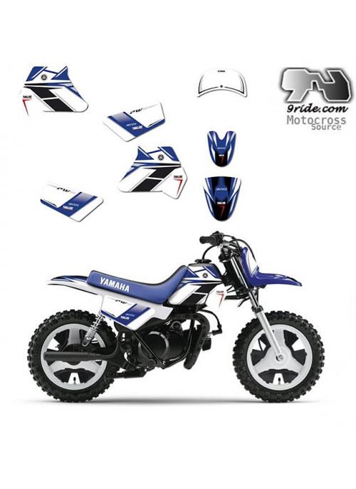 Kit déco Yamaha PW 50 GYTR 9ride,kitdeco,pw50,kitdecopw,piwi,peewee