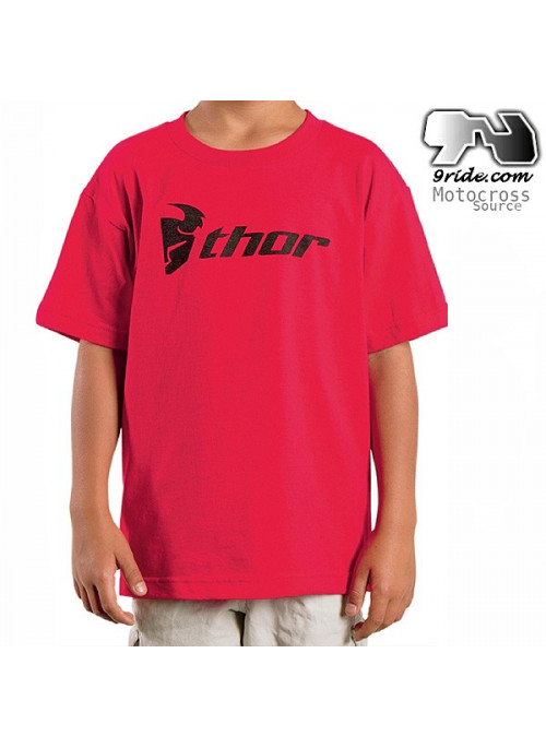 Tee-shirt Thor mx Kid Enfant Loud-N-Proud Rouge