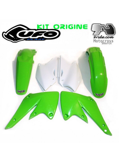 Kit plastique KXF 250 Kawasaki 2004-2005