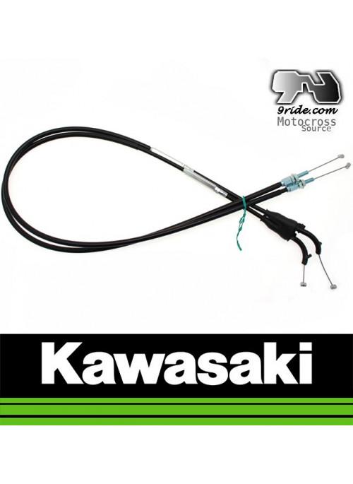 Cable de gaz tirage retour KXF250
