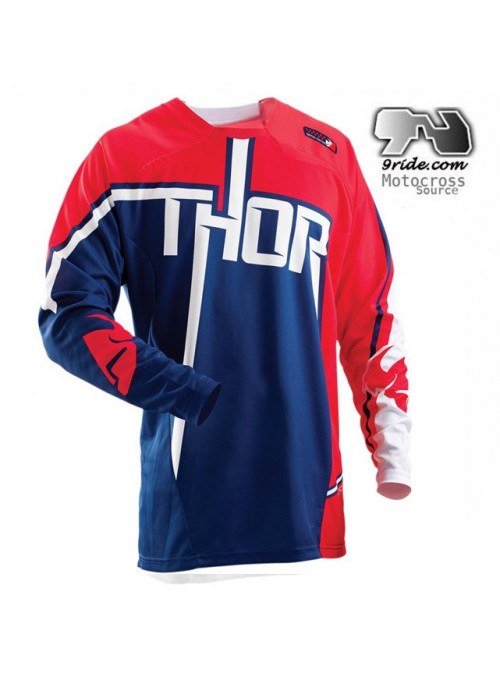 Maillot de motocross THOR CORE ANTHM NAVI 9ride-mx