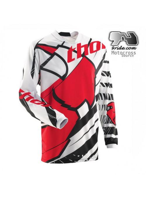 Maillot de motocross THOR PHASE MASK en solde