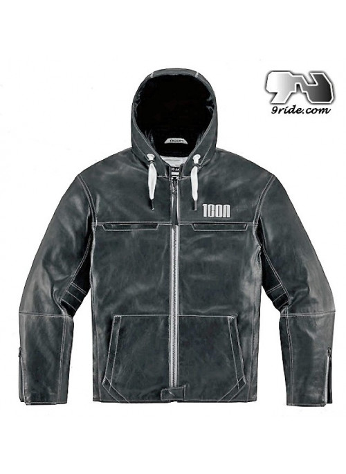 Blouson ICON 1000 HOOD www.9ride.com