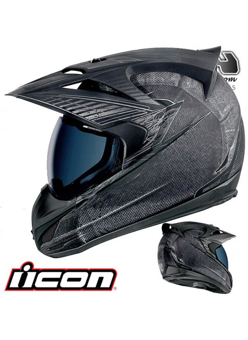 Casque route ICON VARIANT BATTLESCAR 9ride