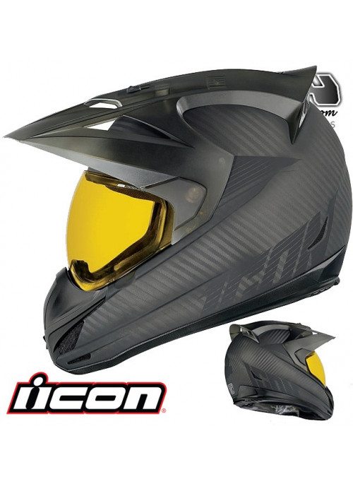 Casque route ICON VARIANT GHOST CARBON 9ride