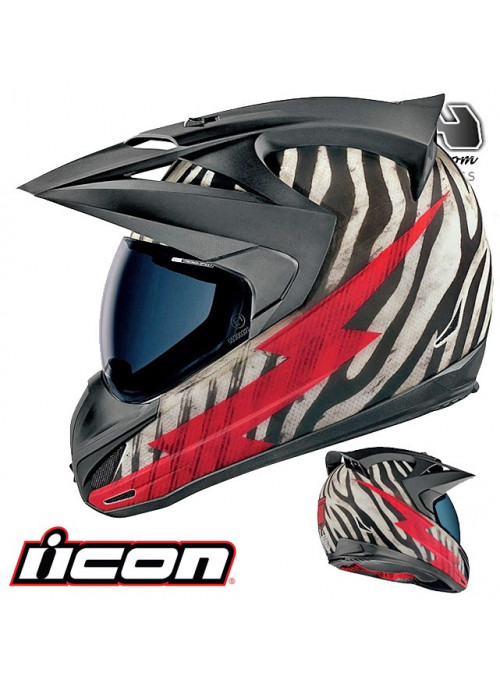 Casque route ICON VARIANT BIG GAME 9ride