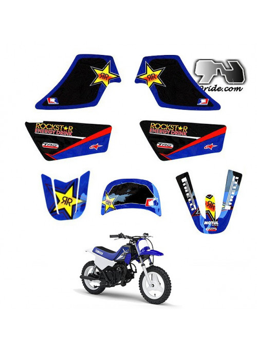 Kit déco PW 50 ROCKSTAR ENERGY