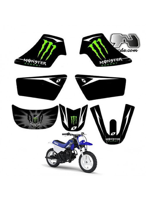 Kit déco Yamaha PW 50 MONSTER ENERGY