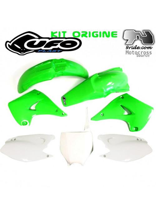 Kit plastique KX125 KAWASAKI origine.