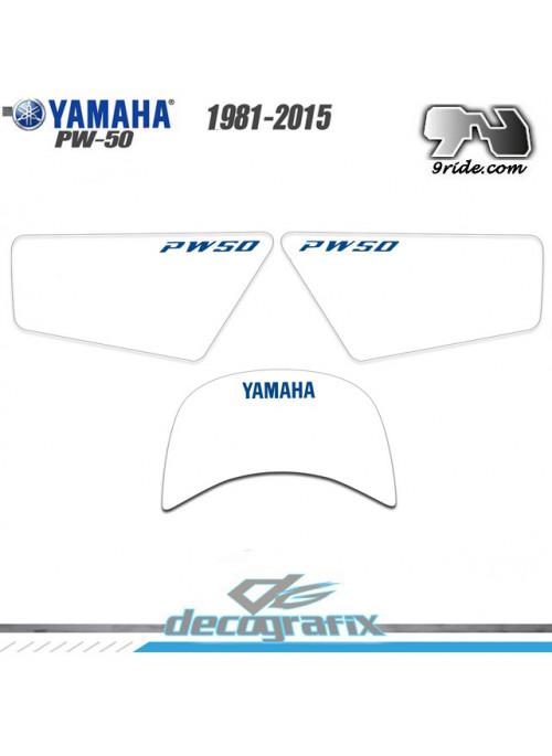 Fonds de plaques Yamaha PW 50