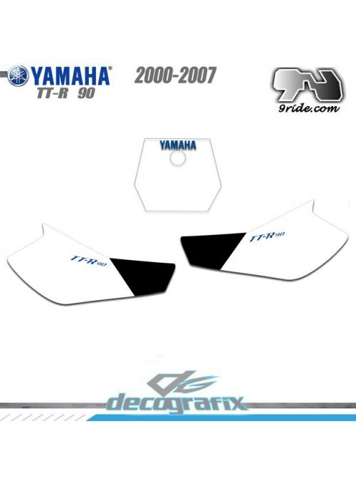 Fonds de plaques Yamaha TT-R 90