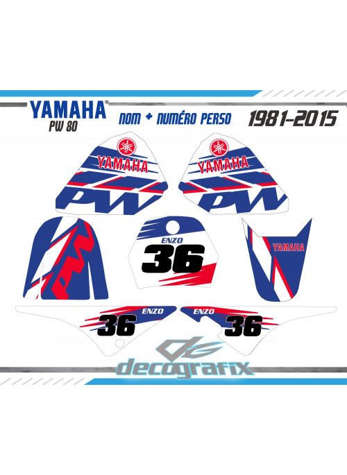 KIt deco Yamaha PW 80 ORIGINAL