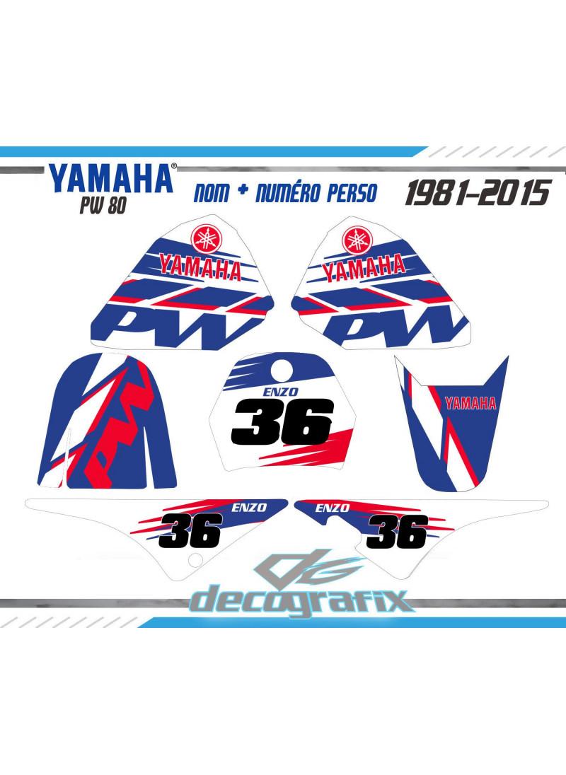KIt deco Yamaha PW-80 - PIWI 80 sur XRIDE.FR