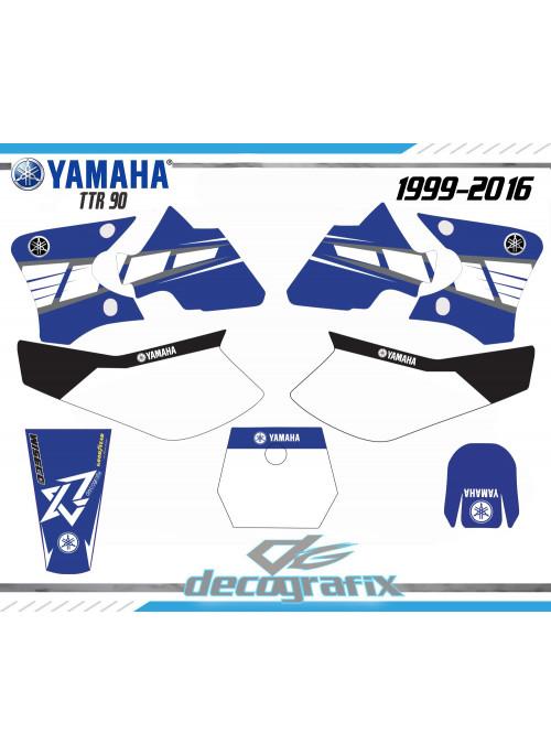 Kit deco Yamaha TTR 90  TTR90 90TTR sur le site de kit deco xride.fr