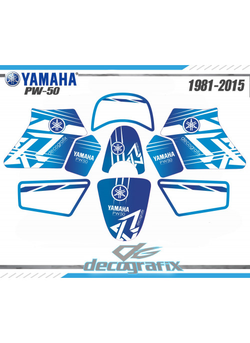 Kit déco YAMAHA PW-50 DECOGRAFIX