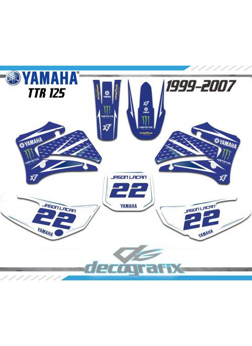 Kit déco TTR125 Yamaha 1999-2008