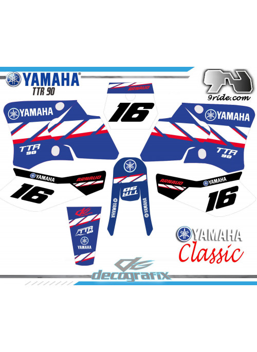 PROMO ! Kit deco Yamaha TT-R 90
