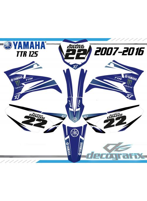 Kit déco Yamaha TT-R125