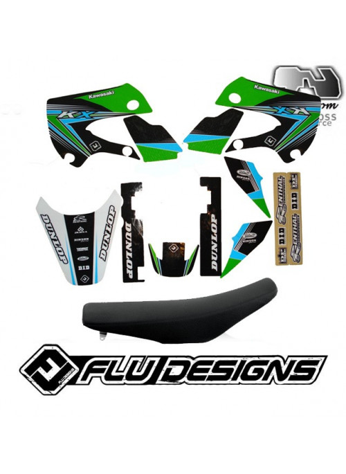 kit deco kx 65 Klx 110 Flu-Design