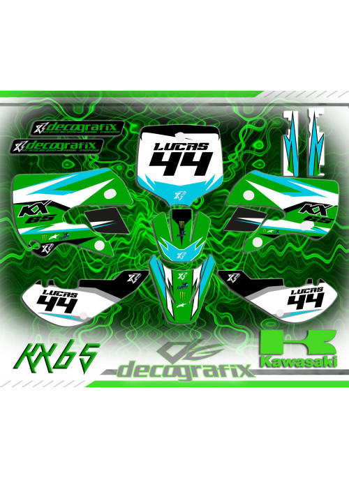 kit deco kx 65 Klx 110 DECOGRAFIX