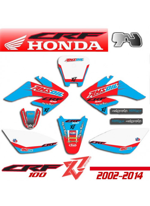Kit déco HONDA CRF 100