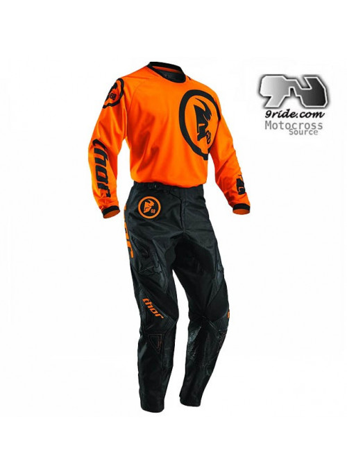 Tenue Motocross THOR PHASE orange