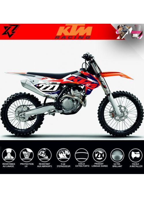 KIT DECO KTM SX SXF EXC EXCF 2013 2014 2015 125 250 300 350 450