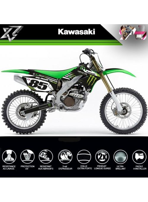 KIT DECO KAWASAKI KXF 250 2006-2007-2008