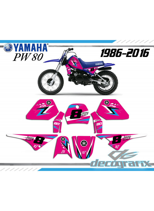 KIt deco PINK80 YAMAHA PW 80