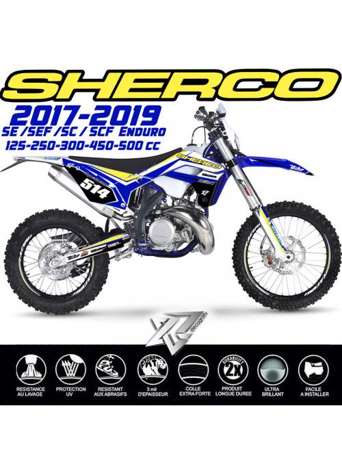 Kit deco SHERCO FACTORY sur xride.fr