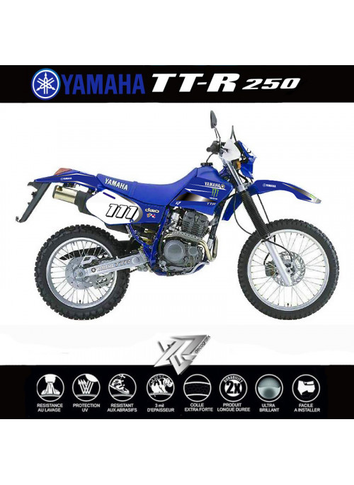 Kit déco Yamaha TTR-250 MONSTERS