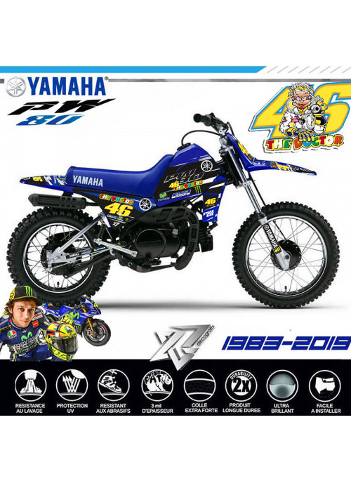 Kit deco PW 80 ROSSI EL DOCTOR