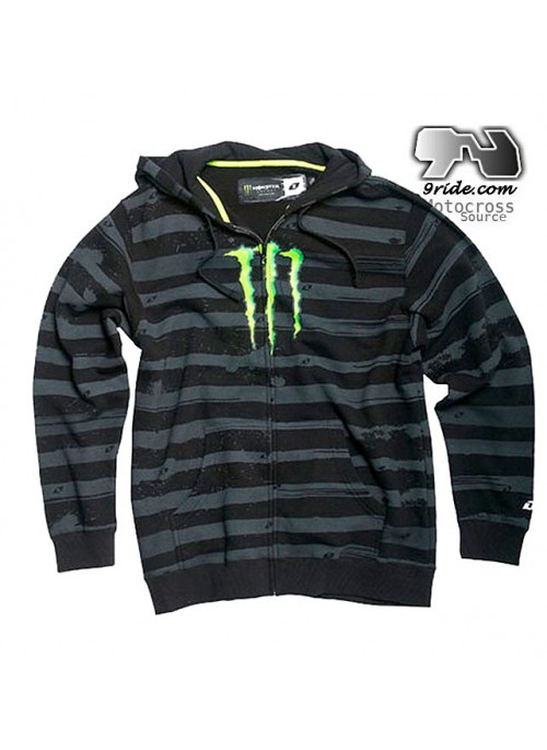 Sweatshirt Monster Energy RIGHT LANE