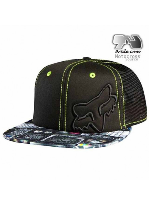 Casquette Fox Racing Monitors Snapback