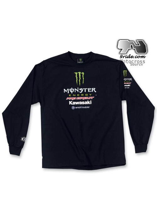 Tee shirt  Monster energy Pro Circuit L/S