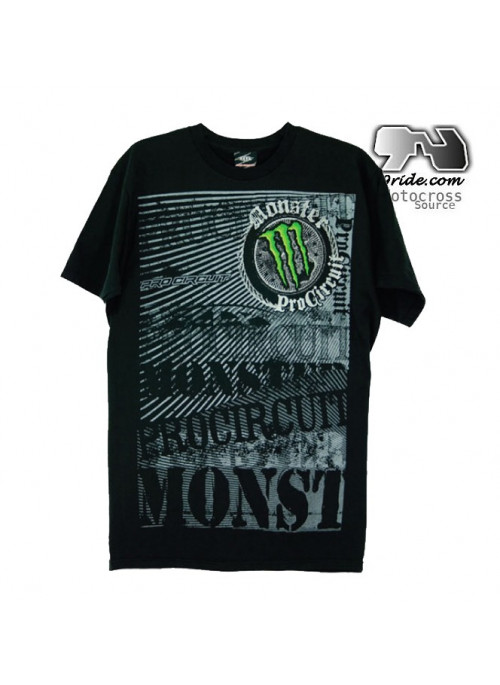 Tee shirt Monster energy Pro Circuit Rock Steady