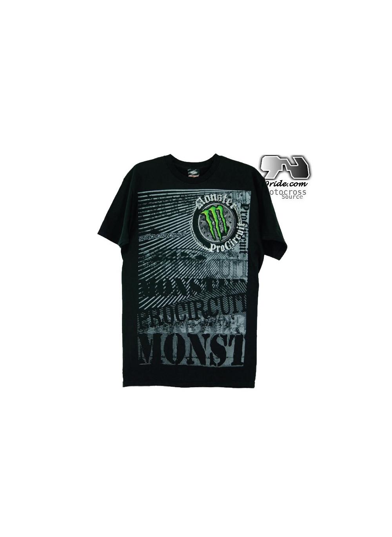 Camiseta Monster Pro Rock Circuit Steady Energy TZOwPXiku