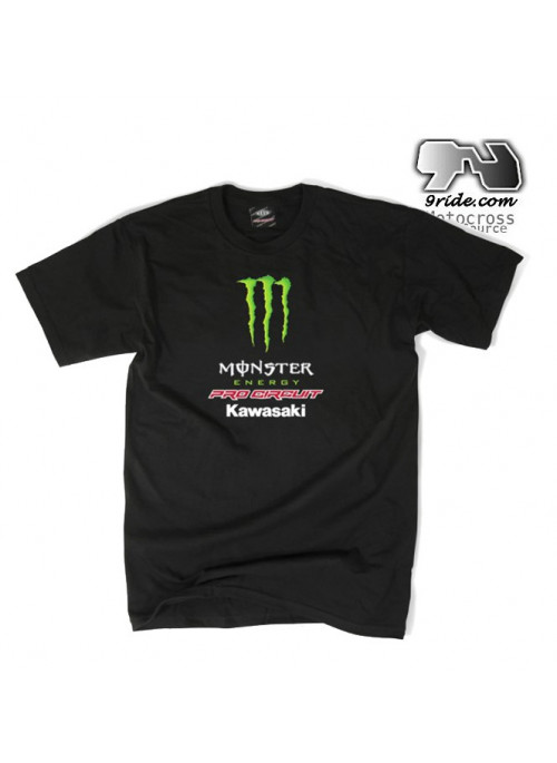 Tee shirt Team Monster Energy Pro Circuit