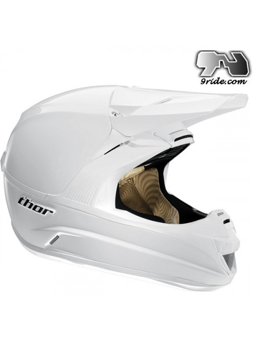 Casque THOR FORCE SOLID WHITE