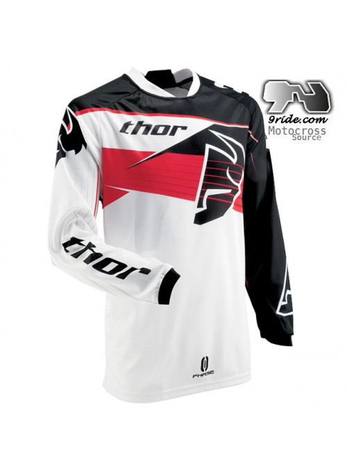 Maillot THOR Phase Steak Jaune