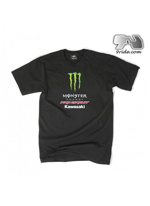 Tee shirt Monster-energy Pro-circuit TEAM