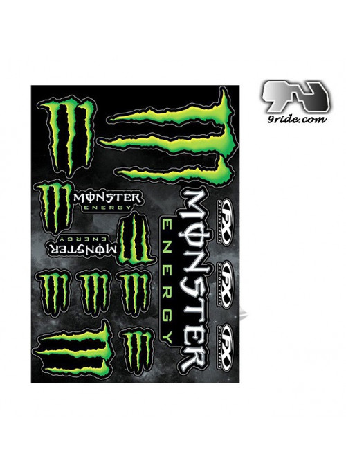 Stickers Monster Energy FX