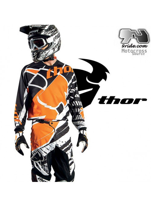 Tenue motocross THOR MASK PHASE 2014 9ride.com
